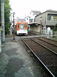 阪堺上町電車ふらりと一人旅天神の森終了