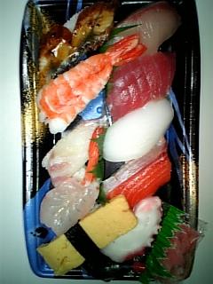 越前屋の寿司