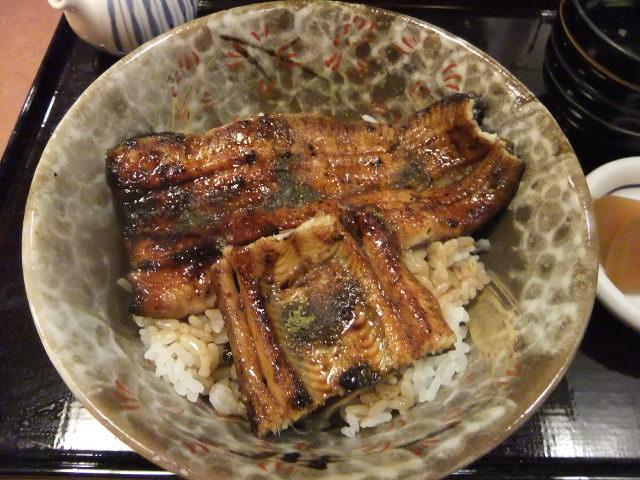 江戸川のうなぎ丼