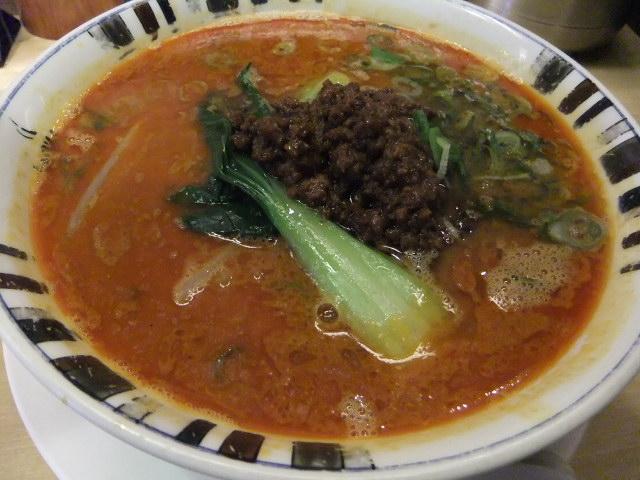 四川拉麺の坦坦麺